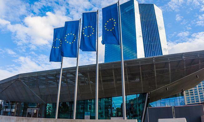 European Central Bank headquarters in Frankfurt