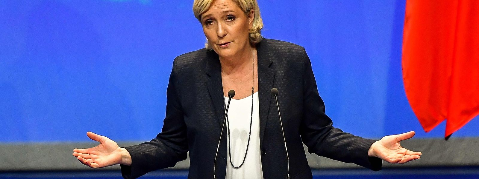 """Kein gutes Händchen bei der Namenswahl: Marine Le Pens Pläne, den FN zum """"Rassemblement National"""" zu machen, dürften gestorben sein, bevor sie in die Tat umgesetzt werden."""