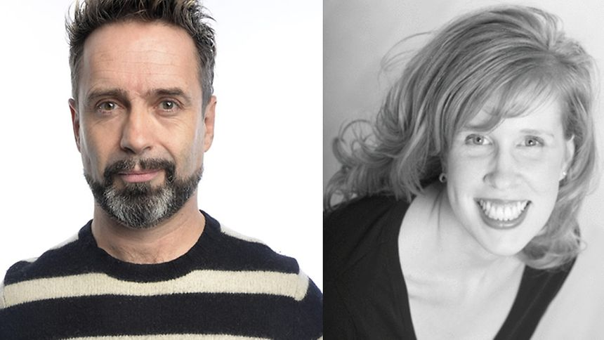 Phil Nichol and Carly Baker will make you laugh in Luxembourg on September 23