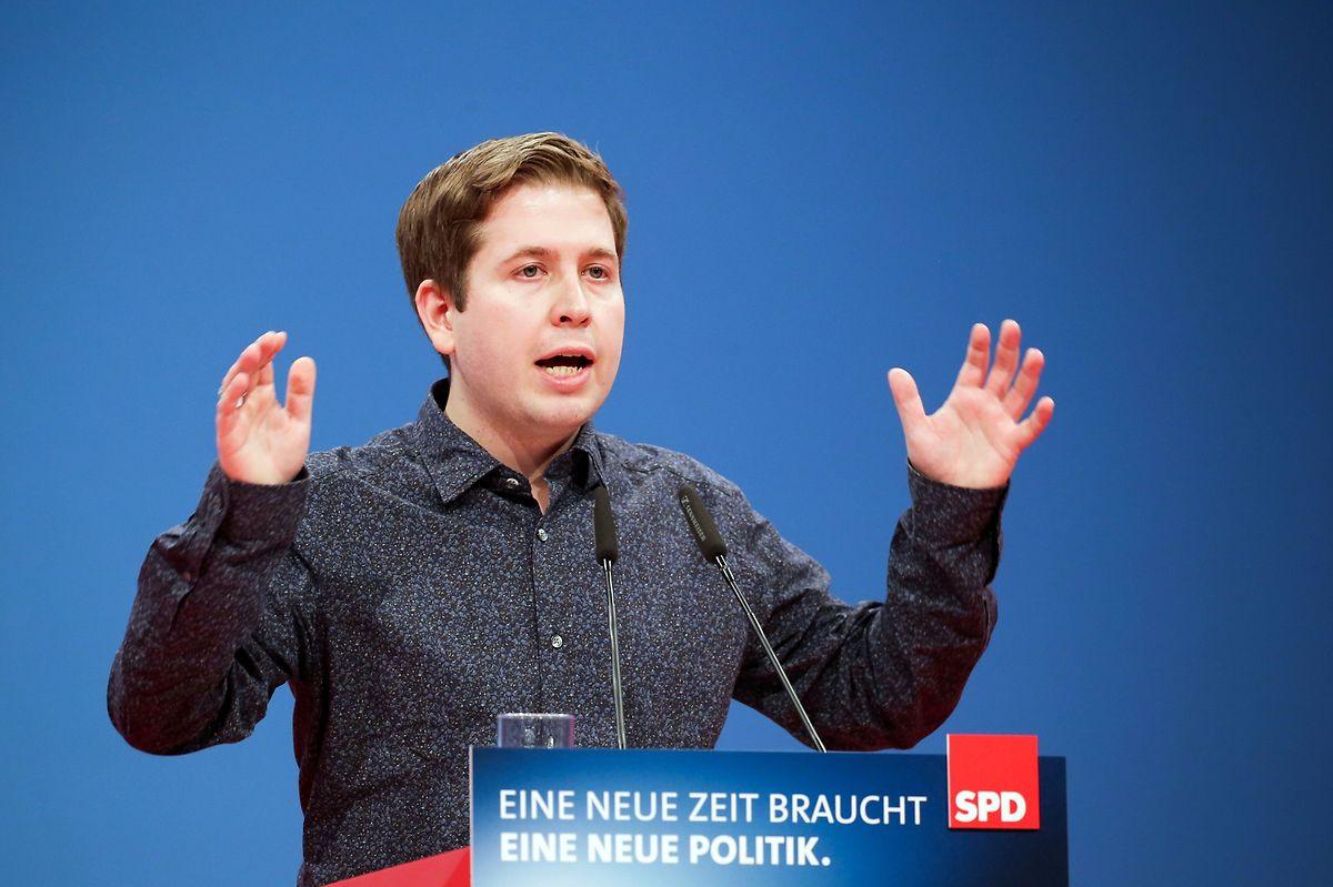 """Juso-Chef Kevin Kühnert findet gewohnt deutliche Worte: """"Transitzentren sind Masseninternierungslager."""""""