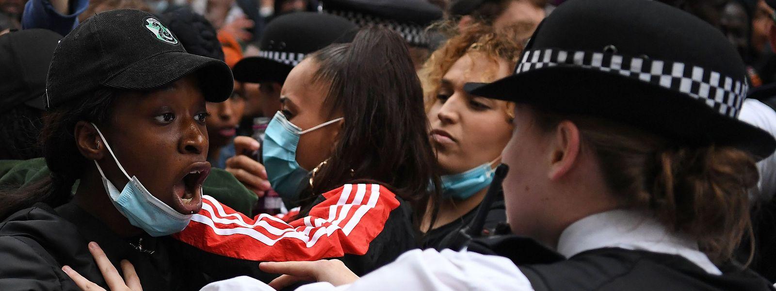 Nach dem Tod von George Floyd sind in den USA weitreichende Proteste ausgebrochen.