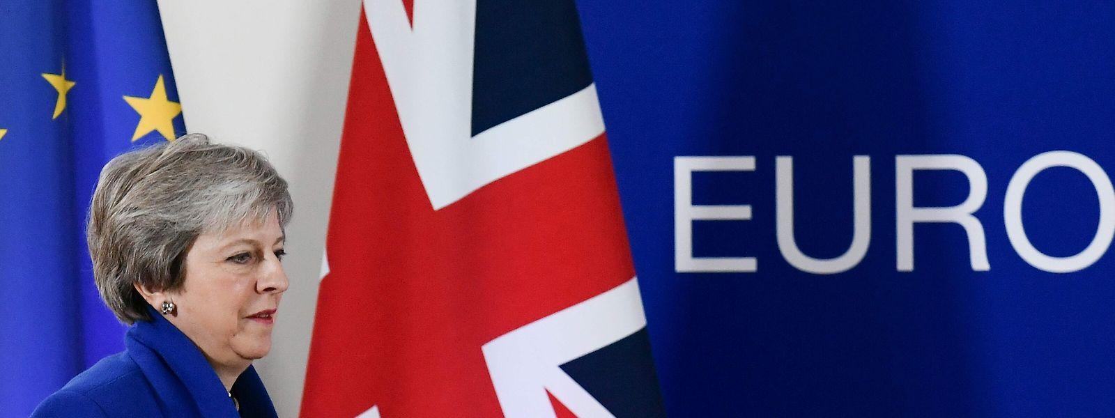 Theresa May kündigte an, daheim für Zustimmung zu dem Deal zu kämpfen.