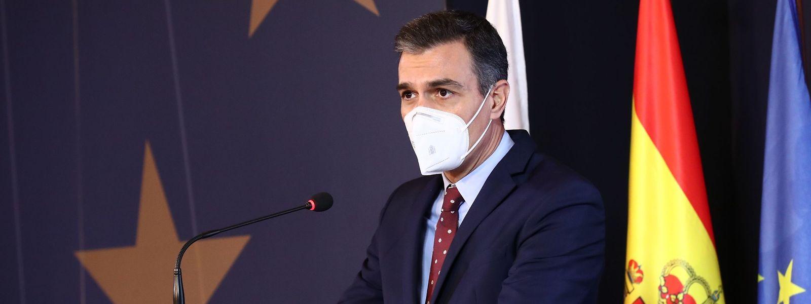 Ministerpräsident Pedro Sánchez bringt den ersten regulären Haushalt seit drei Jahren durchs spanische Parlament.