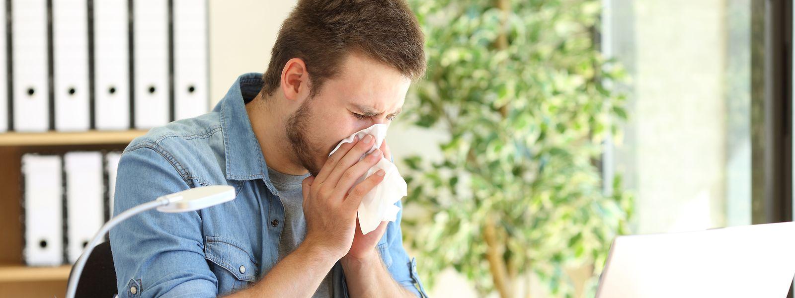 L'épidémie de grippe de cet hiver est en partie responsable de l'augmentation des arrêts maladie en 2018.
