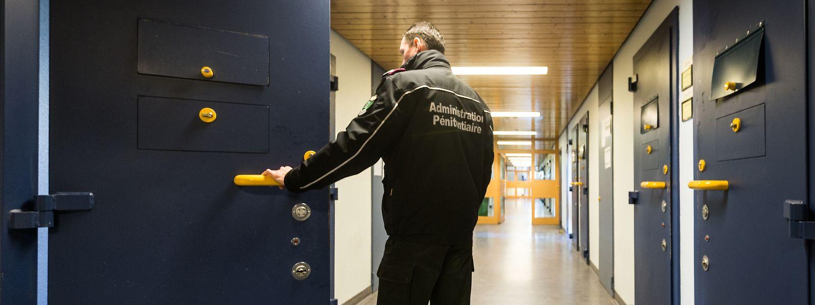 In Schrassig gibt eine gewisse Zahl von Inhaftierten, die keinerlei Skrupel haben und nicht zögern, das unter Beweis zu stellen.