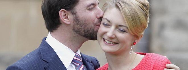 Geben sich am Samstag, dem 20. Oktober das Jawort: Erbgroßherzog Guillaume und Stéphanie de Lannoy.