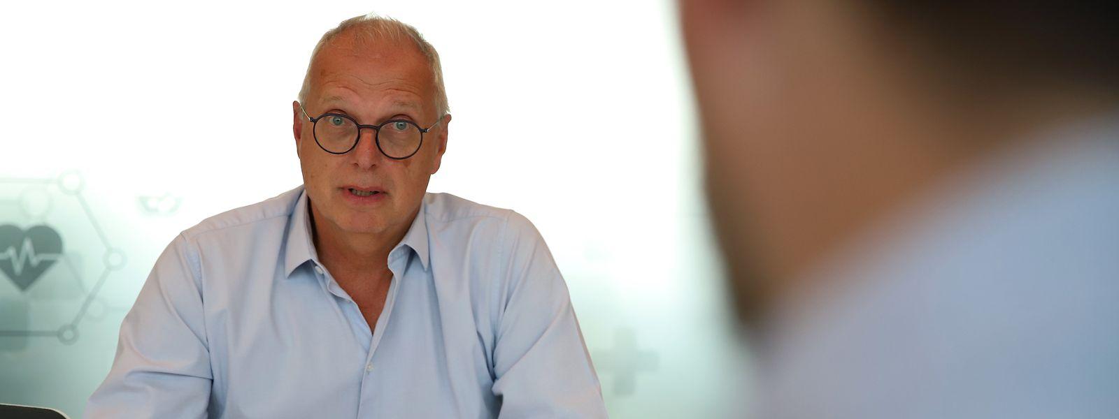 Pour le Dr Jean-Claude Schmit, directeur de la Santé, «le bout du tunnel de la pandémie est proche», même si le virus continuera de circuler.
