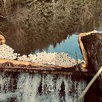 Há hidrocarboneto nas águas de Wemperbaach e Breidfeld