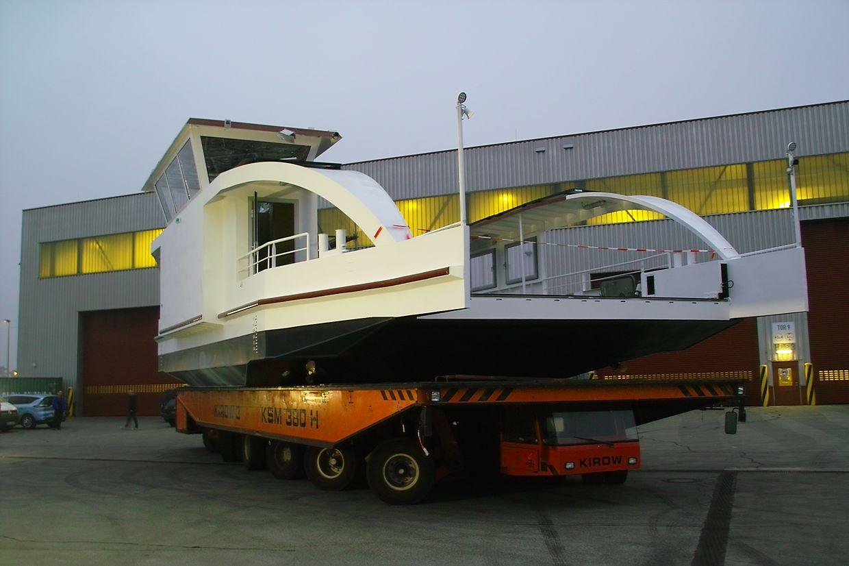 Die neue Moselfähre ist weltweit die erste vollelektrische Autofähre für Binnengewässer.