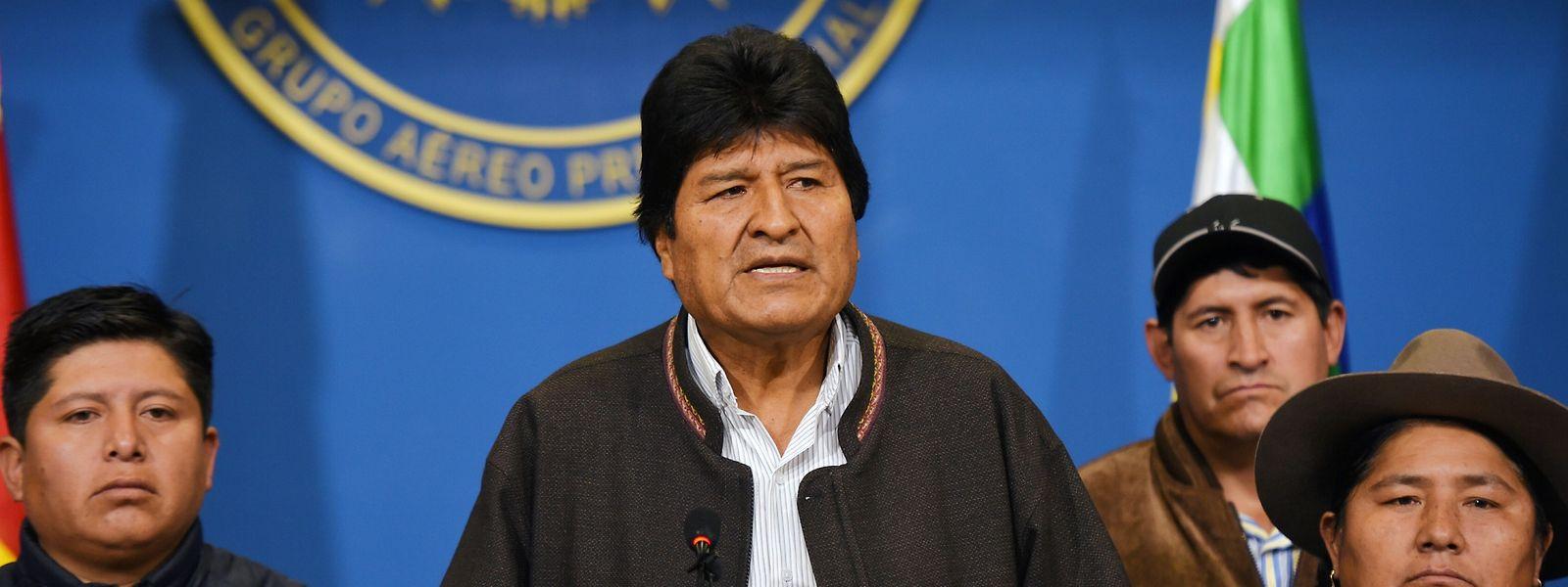 Le président bolivien Evo Morales a démissionné de ses fonctions depuis dimanche.