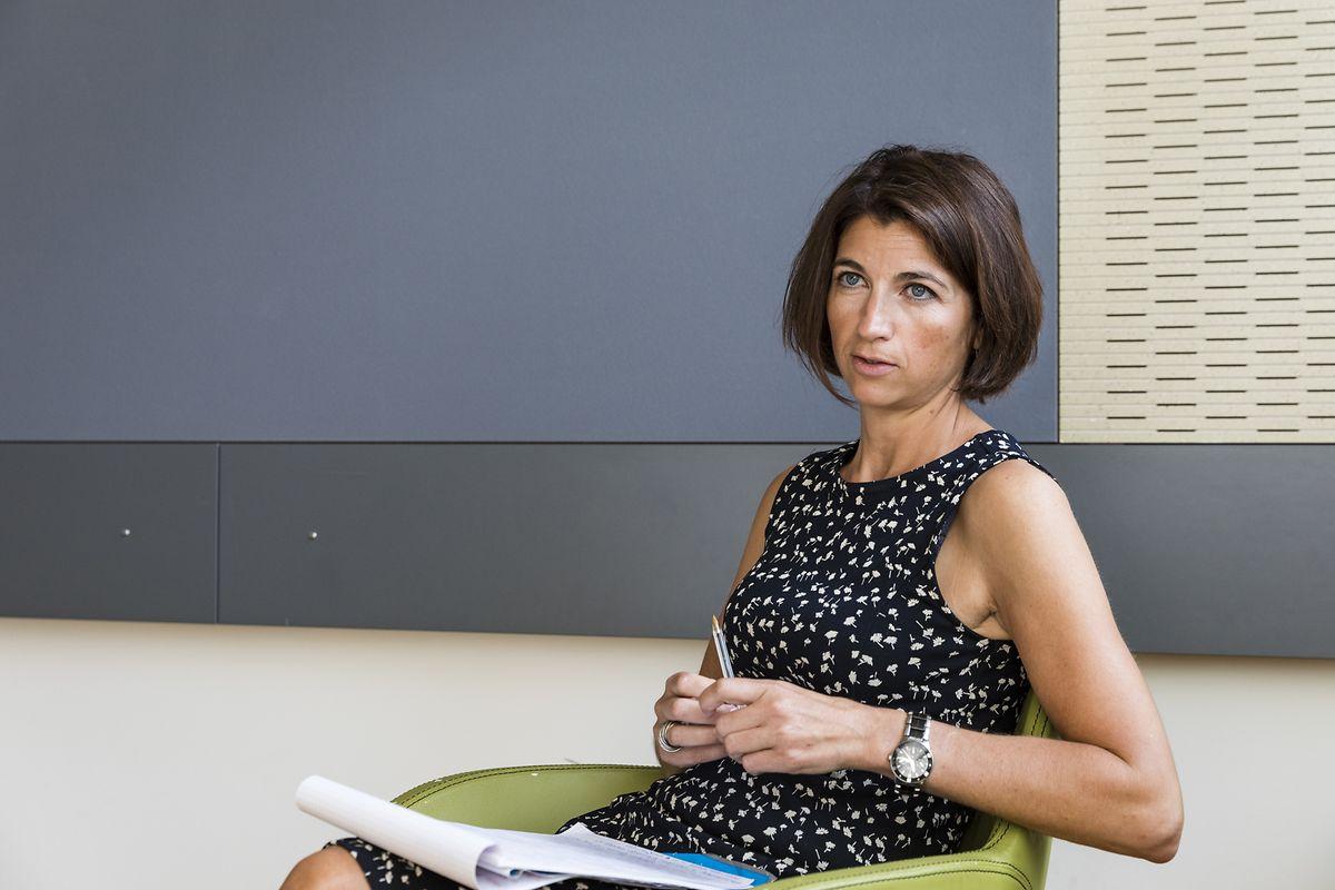 Interview mit SePas-Psychologin Elisabeth Ketter/ Elisabeth Ketter/ Lycée Ermesinde / Rentrée-Beilage : Wie motiviere ich mein Kind zum Schulbeginn?/ 24.07.2019/ Foto : Caroline Martin