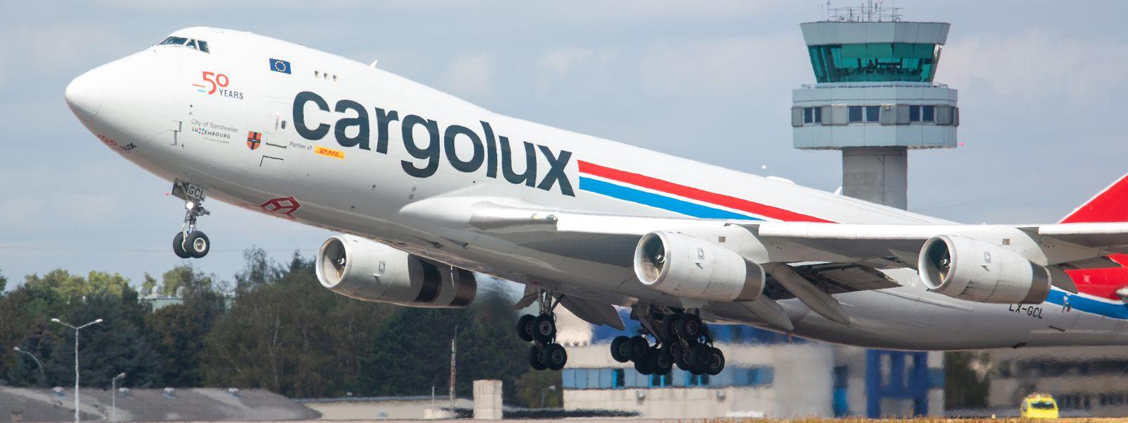 Cargolux transportierte zu Beginn der Pandemie viel Corona-Schutzausrüstung.