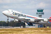 Wirtschaft, Cargolux, LX-GCL ,  Findel, Boeing, Flughafen, Aéroport, Foto: Chris Karaba/Luxemburger Wort