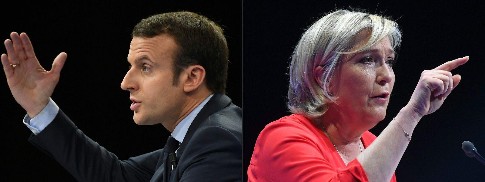 Un scénario probable en 2022: Un deuxième tour avec Emmanuel Macron et Marine Le Pen, comme déjà en 2017.