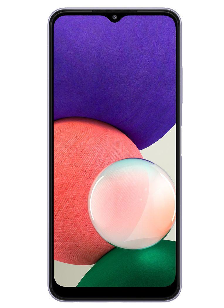 """Nicht nur die Galaxy-Familie wächst, nein, auch die 5G-Familie von Samsung darf sich über einen günstigen Neuzugang freuen: Smartphone """"Galaxy A22 5G"""" mit Triple-Kamera auf der Rückseite (Hauptkamera mit 48 Megapixel), um 249 Euro."""