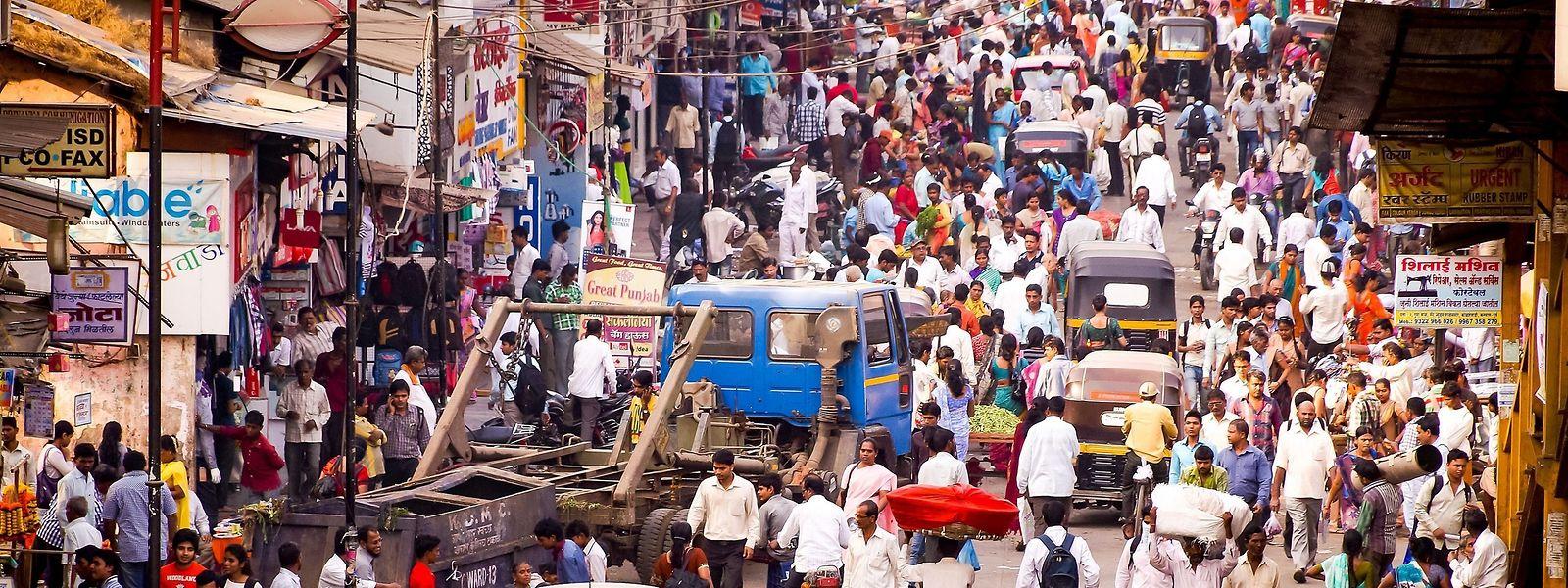 Indiens Hauptstadt New Delhi soll schon in zehn Jahren die größte Stadt der Welt sein.