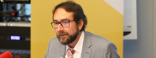Jérôme Hury, responsable de la division des statistiques sociales au Statec.