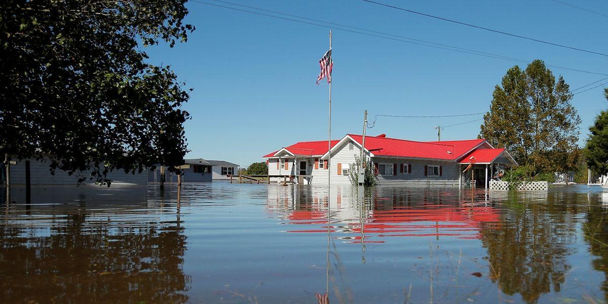 """Hurrikan """"Matthew"""" sorgte in den USA für Überschwemmungen."""