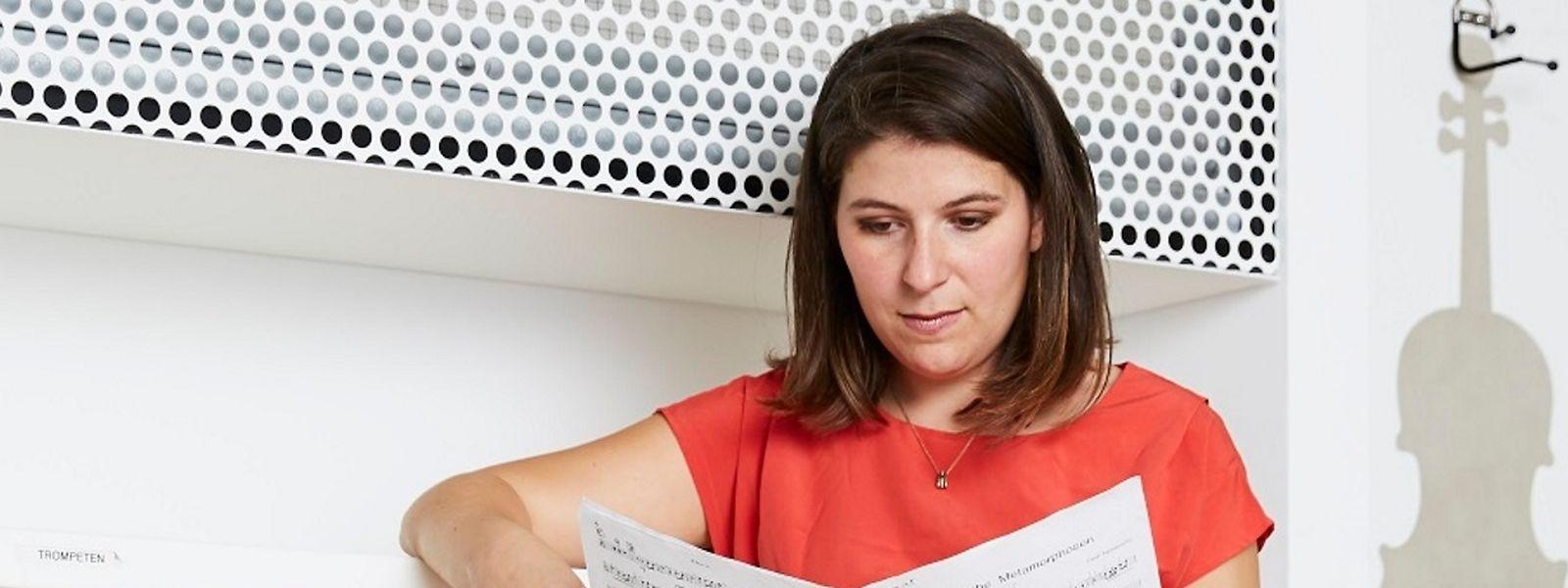 Amanda Kleinbart freut sich, jeden Tag in der Elbphilharmonie arbeiten zu können.
