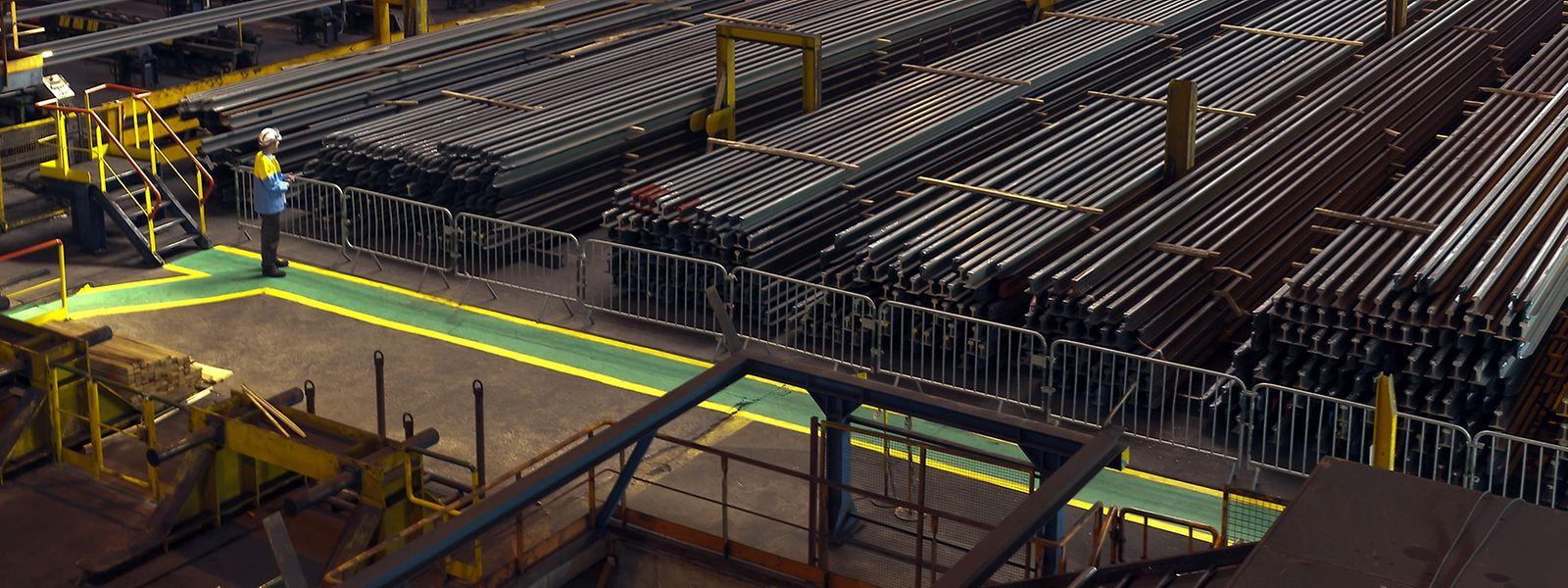 Le site lorrain est capable de produire des rails de 108 mètres.