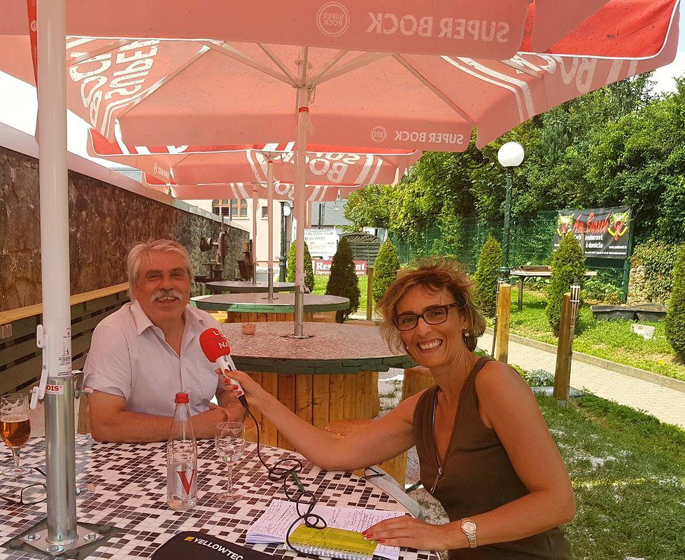 Entrevista de Domingos Soares à Rádio Latina