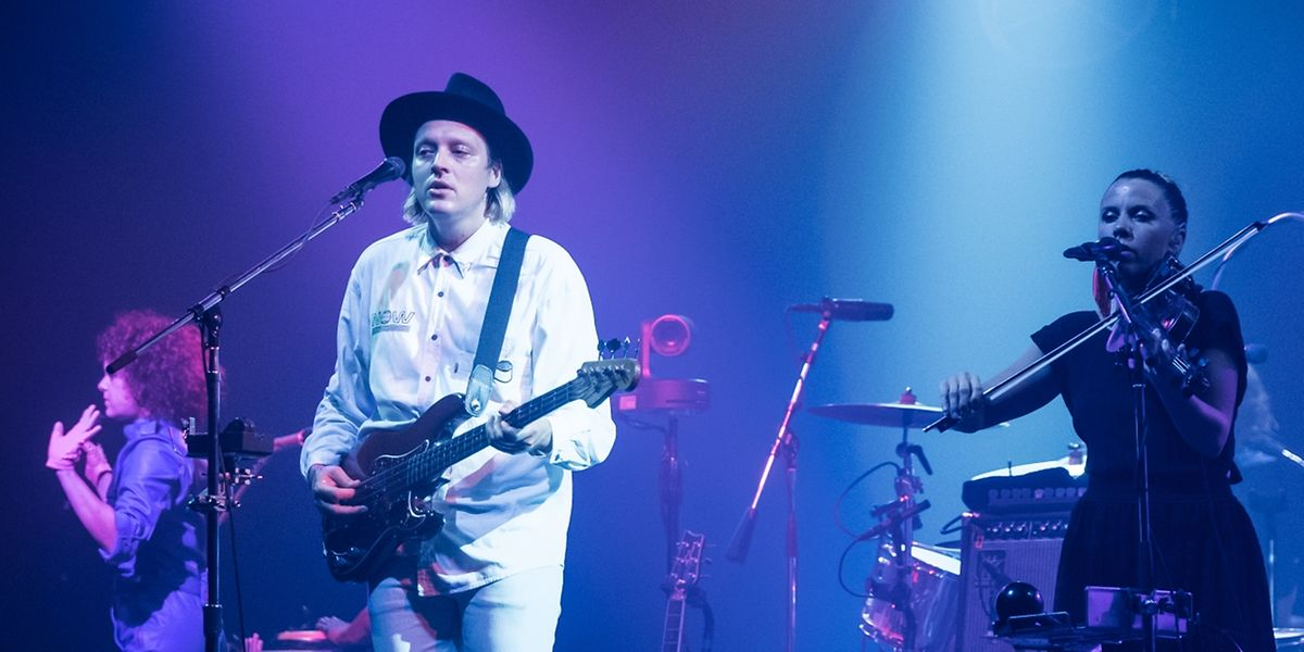 Die Pop-Rock-Folk-Eklektiker von Arcade Fire in der Rockhal