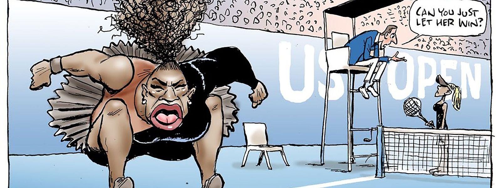 La caricature de Mark Knight