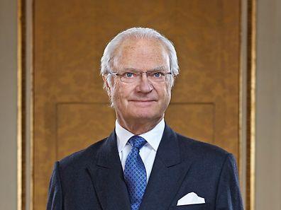 H.M. Konung Carl XVI Gustaf / HM King Carl XVI Gustaf. Fotografiet taget inför H.M. Konungens 70-årsdag, 30 april 2016.