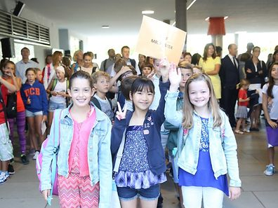Back to school at the International School of Luxembourg / Foto: Steve EASTWOOD