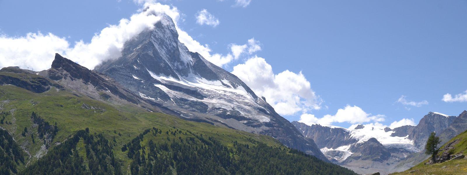 Das Matterhorn ist einer der höchsten Berge der Alpen.