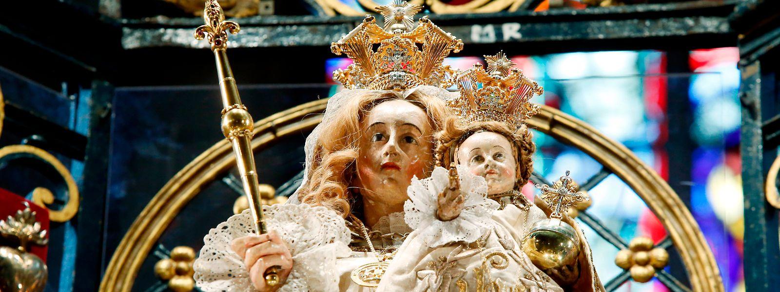 """Die Trösterin der Betrübten – die """"Consolatrix afflictorum"""" in der Luxemburger Kathedrale hat schon einige Krisen und Kriege miterlebt und überstanden."""