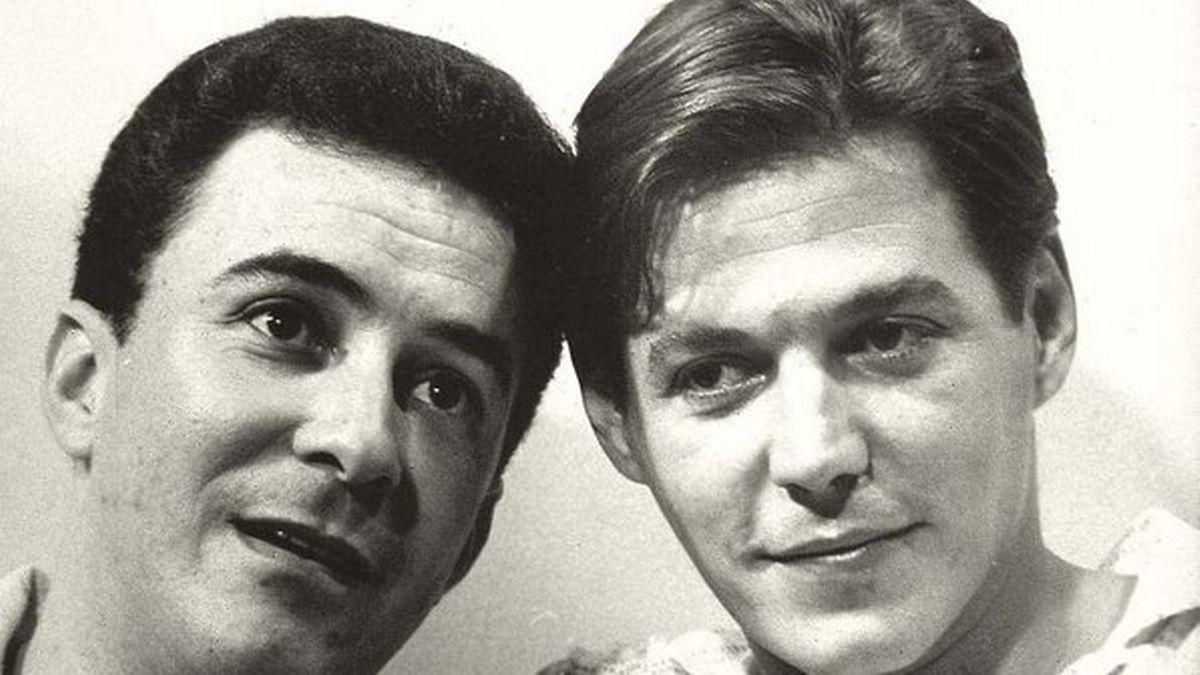 João Gilberto e Tom Jobim.