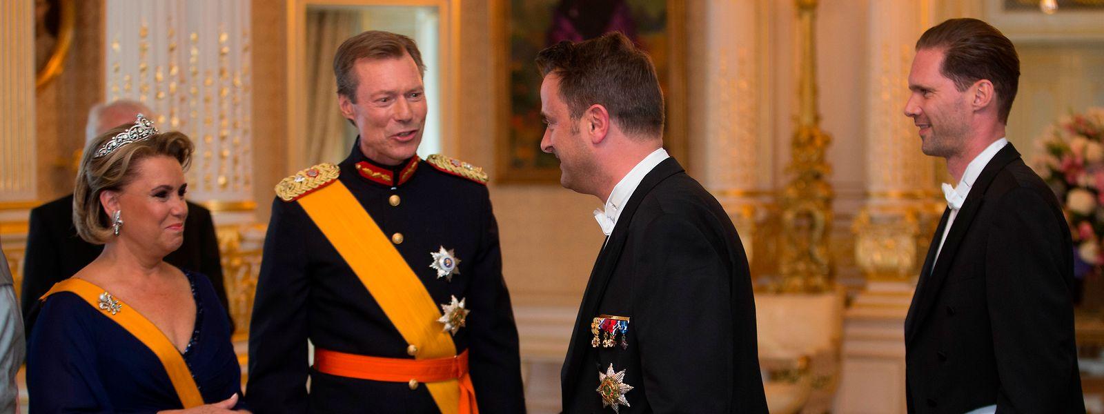 La valeur du patrimoine de la famille grand-ducale n' a jamais figuré au rang des communications publiques.