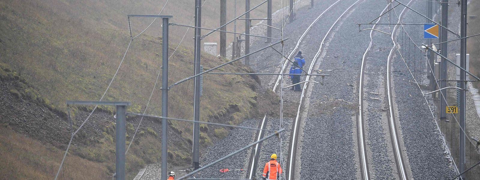 Ein Erdrutsch könnte für das TGV-Unglück nahe Saverne verantwortlich sein.