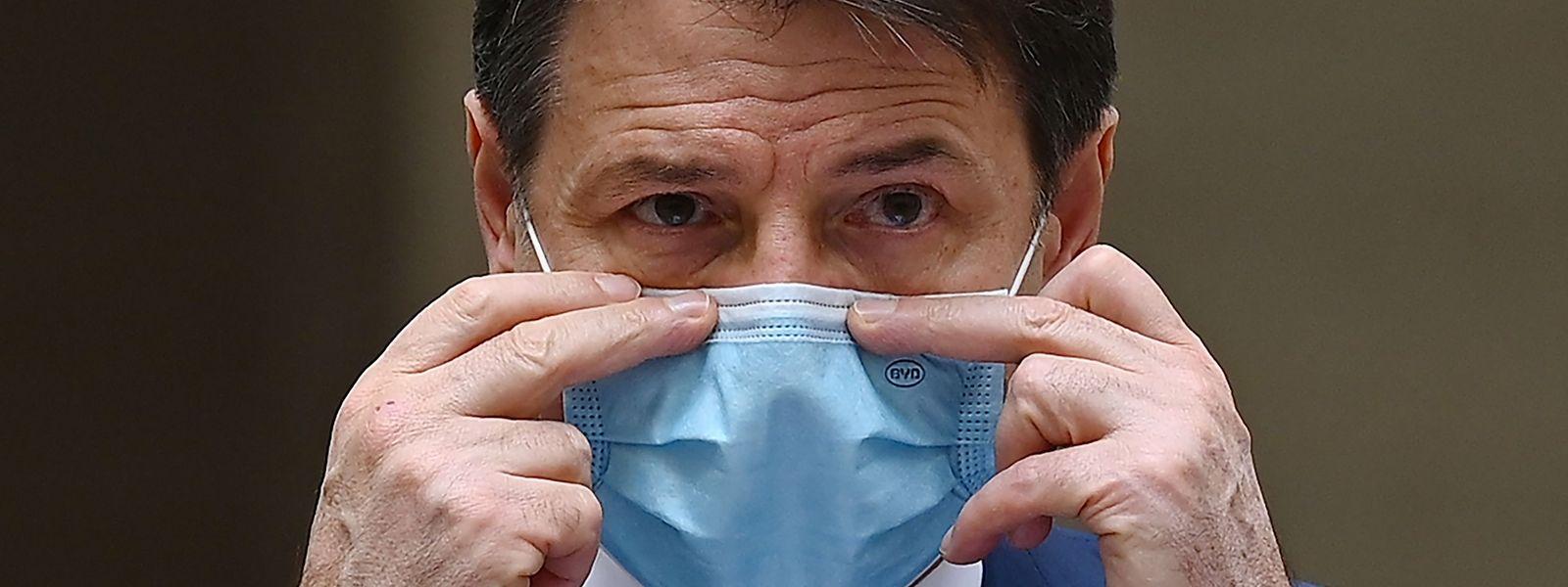 Der italienische Premierminister Guiseppe Conte steht derzeit politisch unter Druck.