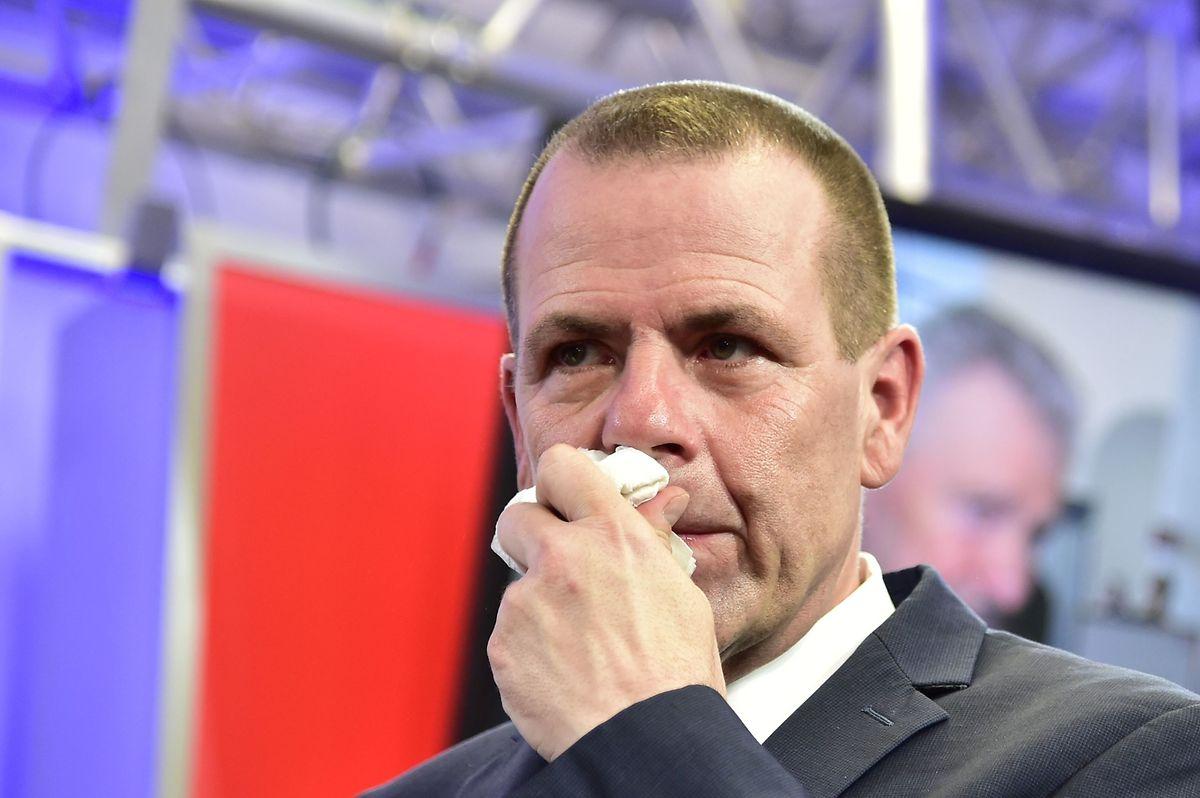 """FPÖ-Generalsekretär Harald Vilimsky interpretierte die Wahlniederlage seiner Partei als """"Auftrag für einen Neustart""""."""