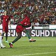 Eder, o herói do Euro2016, vai tentar voltar a marcar contra a frágil selecção de Gibraltar