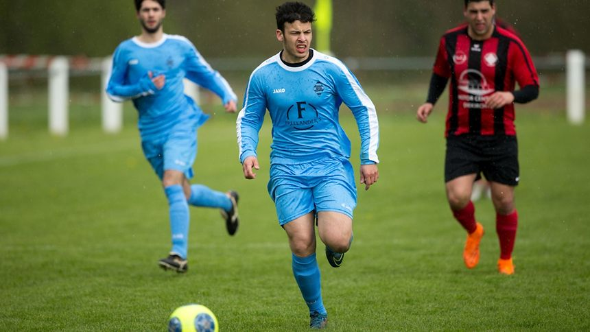 Tiago Fernandes et Reisdorf ont partagé l'enjeu contre Larochette.