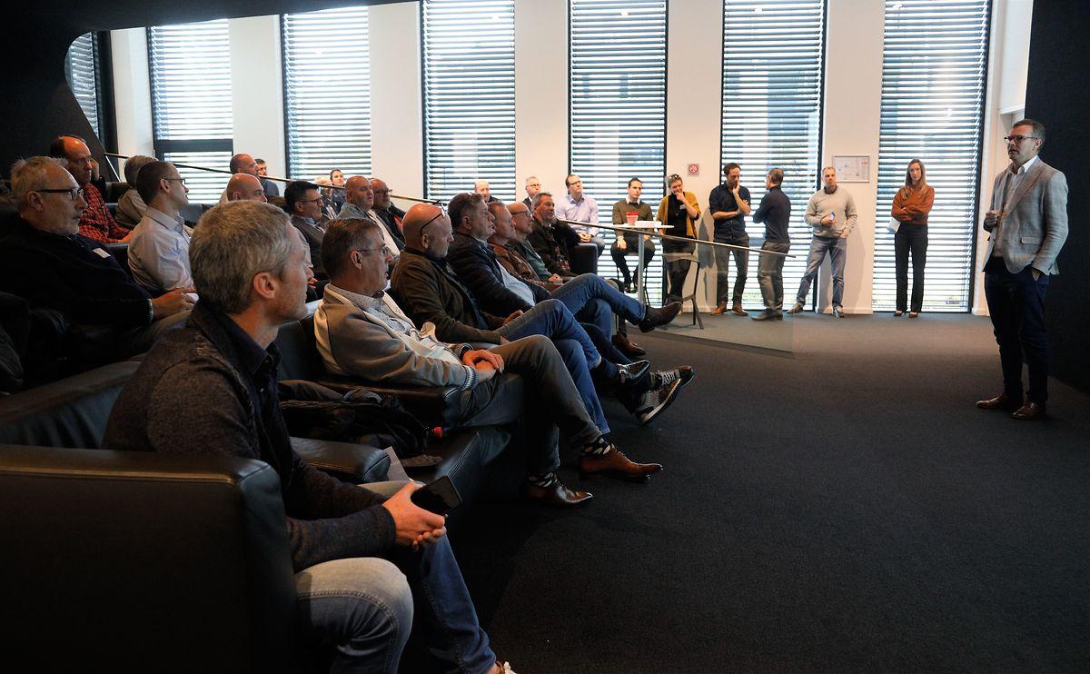 30 Kapitäne bei einem Seminar in Capellen: Immer auf dem neusten regulatorischen und technischen Stand sein,