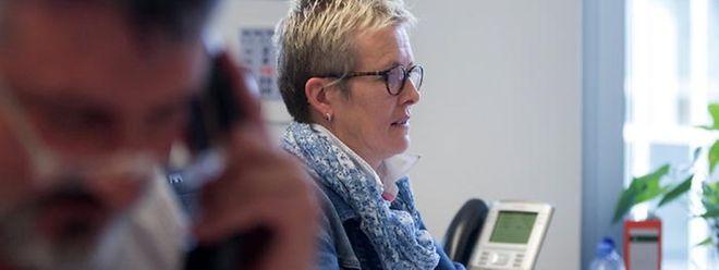 """Als """"Conseillère employeur"""" bei der Adem ist Viviane Weisgerber für die Handwerkerbetriebe zuständig."""