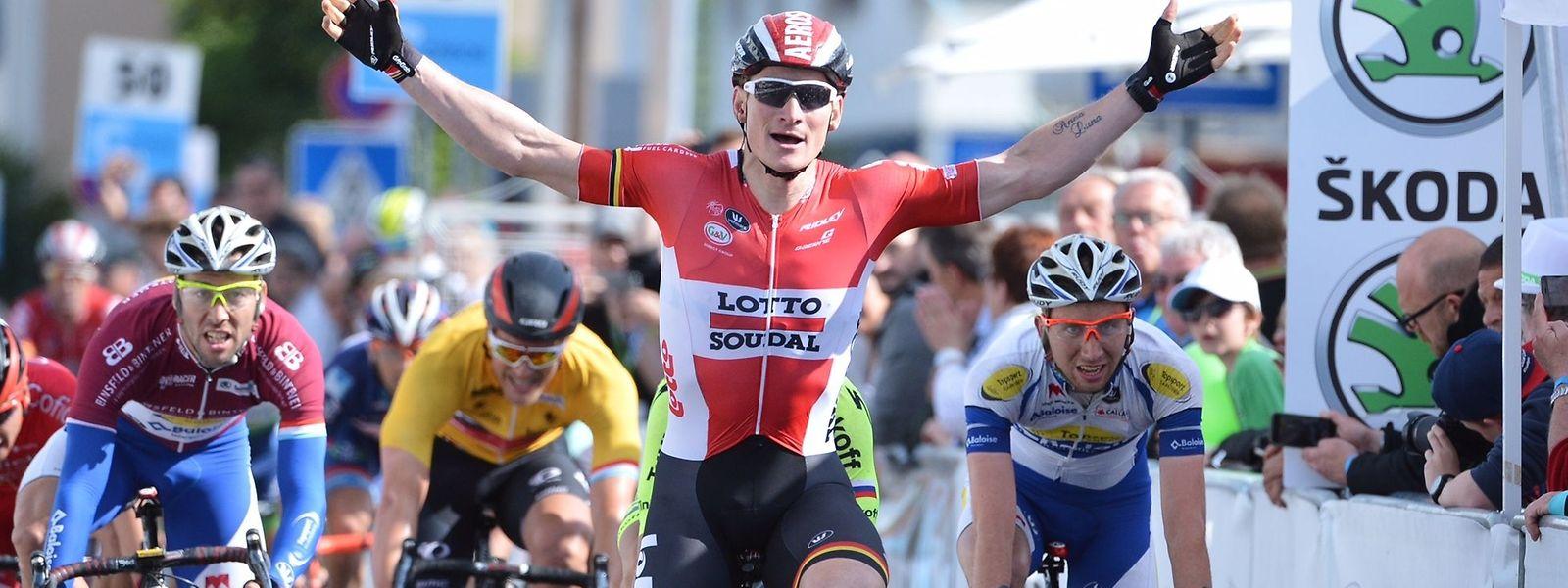 André Greipel s'est imposé haut la main à Hesperange, il s'agit de sa septième victoire sur l'épreuve luxembourgeoise.
