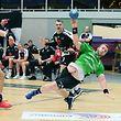 Handball AXA League Maenner Meisterschaft der Spielzeit 2018-19 zwischen dem HB Esch und dem HB Kaerjeng am 18.05.2019 Milasin TRIVIC (3 HBK)