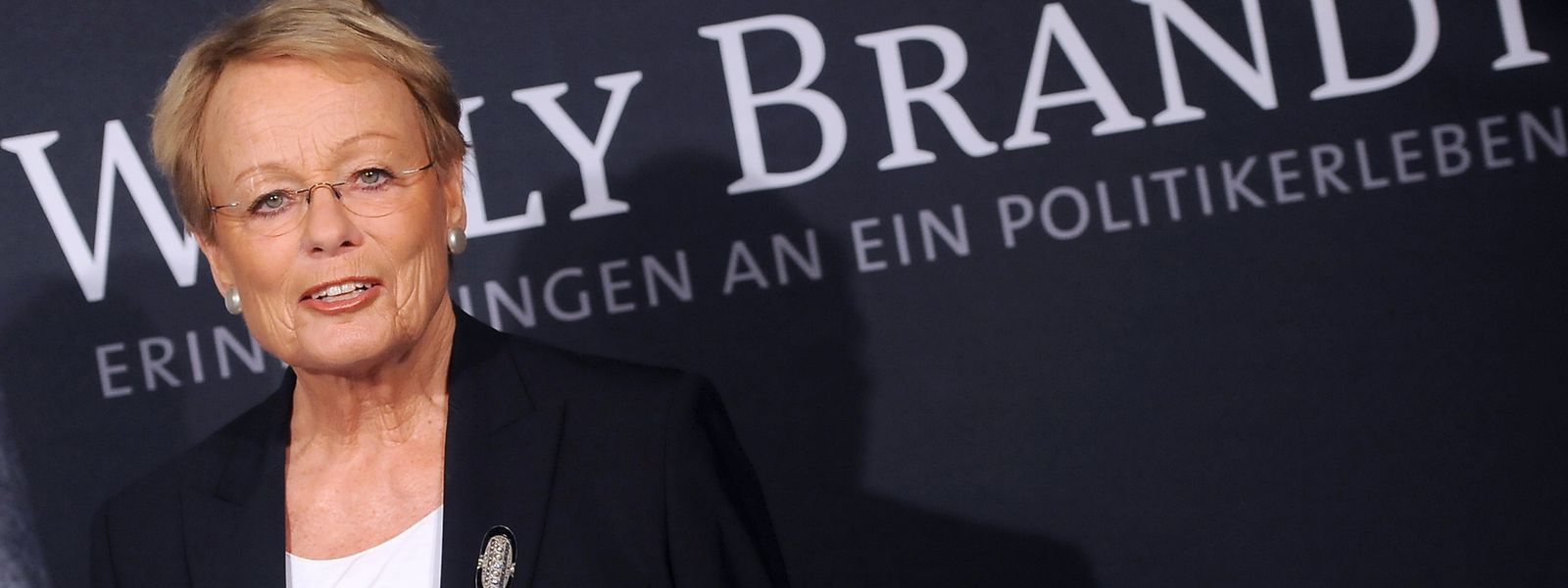 Wibke Bruhns bei der Premiere des Films «Willy Brandt - Erinnerungen an ein Politikerleben».