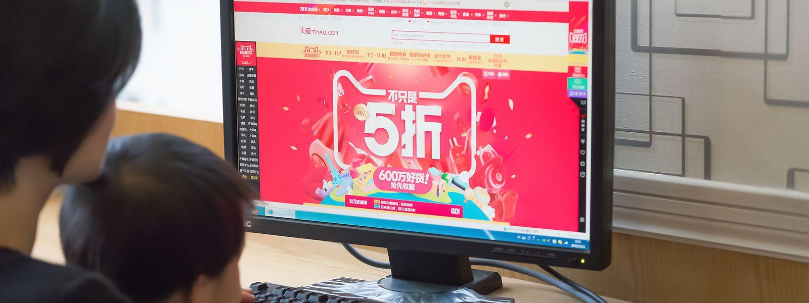 In China locken am heutigen Tag vor allem Onlineplattformen mit Rabattaktionen, die nicht nur von Singles genutzt werden dürfen.