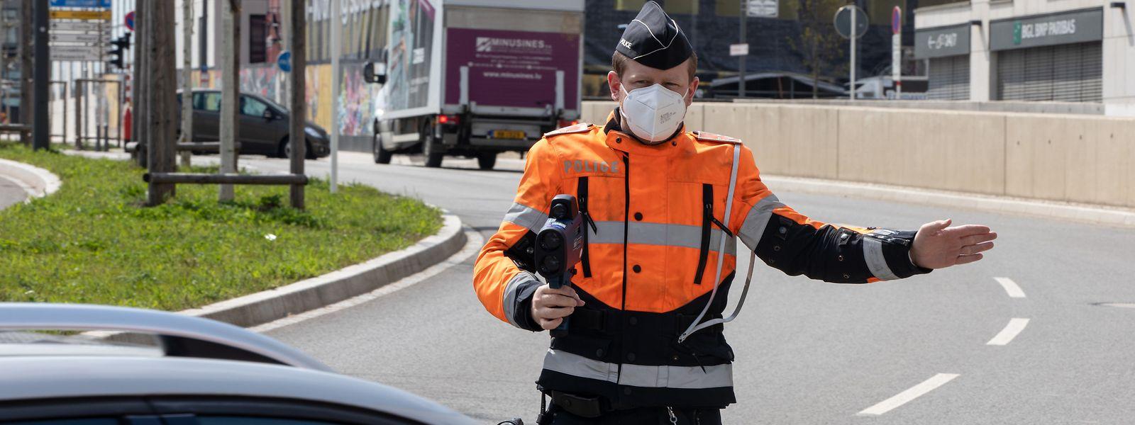 Rien qu'au cours du Speedmarathon du mercredi 21 avril, la police a distribué 424 amendes à des automobilistes en excès de vitesse.