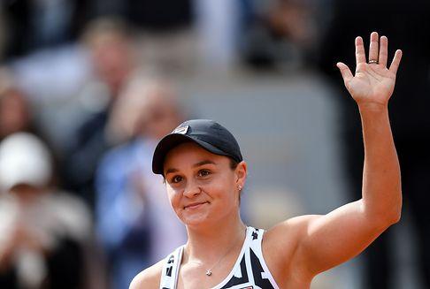 Barty gewinnt die French Open