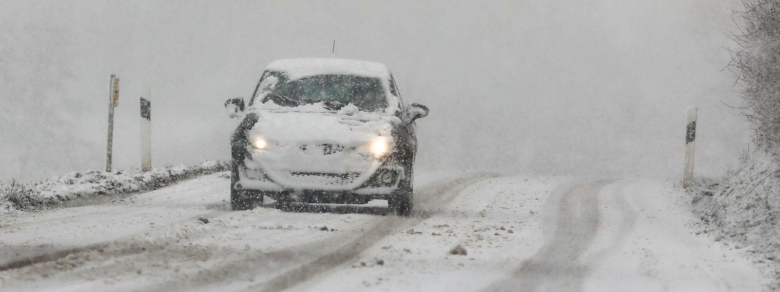 La neige a provoqué d'importants soucis de circulation. Plus de 50 accidents ont été répertoriés par la police.