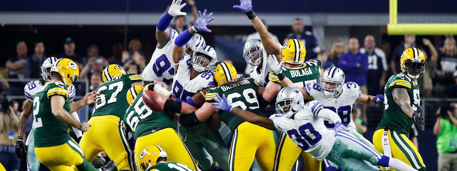 Die Green Bay Packers stehen im Play-off-Halbfinale der National Football League.