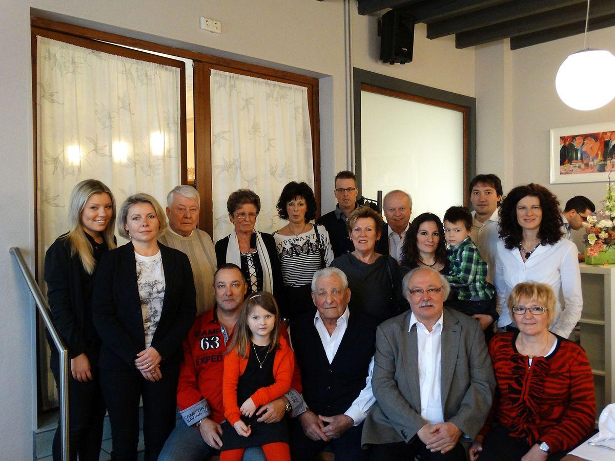 Seinen 85. Geburtstag feierte Paul Steffen im Kreis seiner Familie und Freunde.