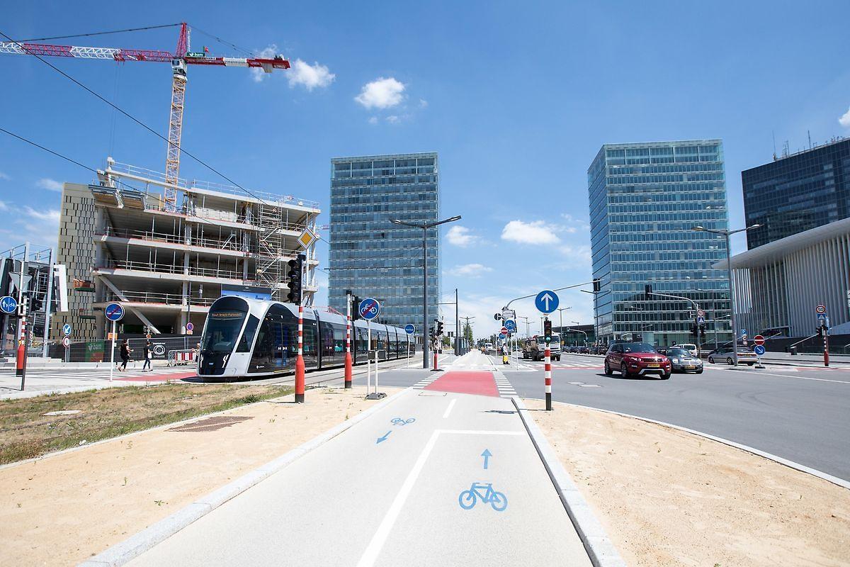 Corollaire des habitations à prix abordable, les infrastructures liées à la mobilité douce doivent être développées au Kirchberg.